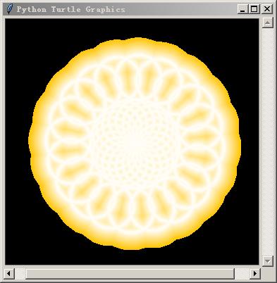 python画橙子