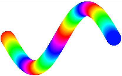 李兴球python正弦渐变示例
