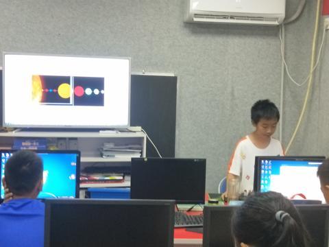 萍乡乐学创客编程学校Python学生
